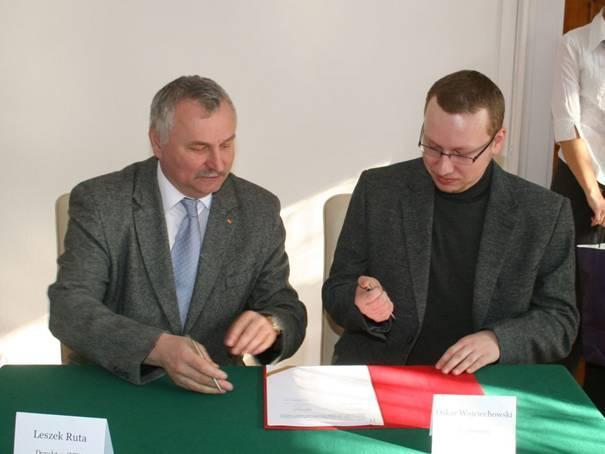 Uczestnik stażu - Oskar Wojciechowski