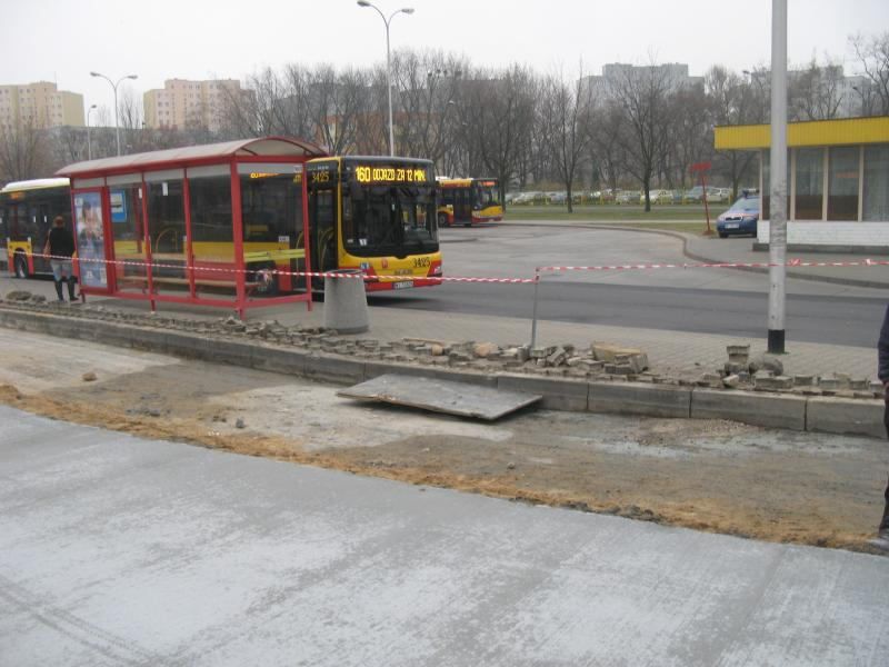 """Remont pętli autobusowej """"Targówek"""""""