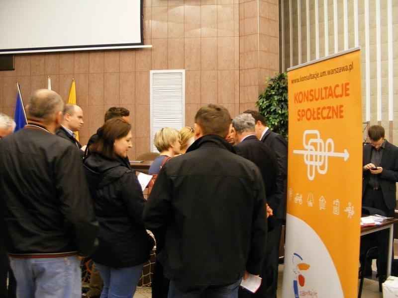 Spotkanie konsultacyjne na Targówku 14 maja