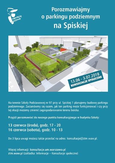 parking Spiska - pobierz plakat