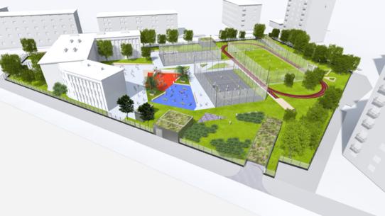 parking Spiska - wizualizacja 1