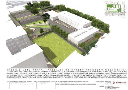 parking Chłodna - wizualizacja 2
