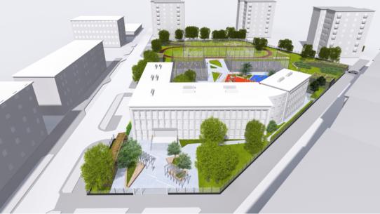 parking Spiska - wizualizacja 2