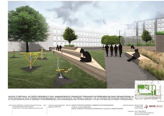 parking Chłodna - wizualizacja 3