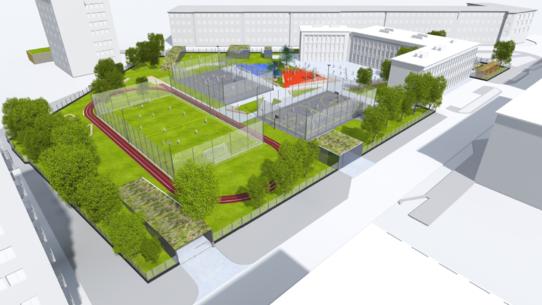 parking Spiska - wizualizacja 3