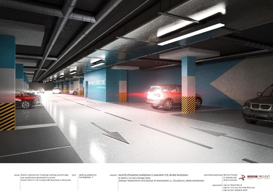 parking Chłodna - wizualizacja 5