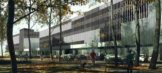 parking Orzycka - wizualizacja 4