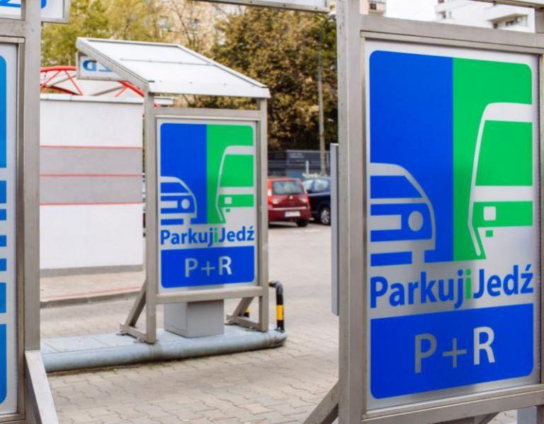 zdjecie z parkingu P+R