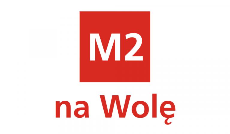 """grafika """"M2 na Wolę"""""""