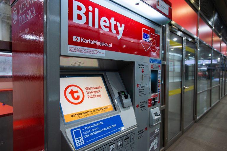 zdjęcie - automat biletowy
