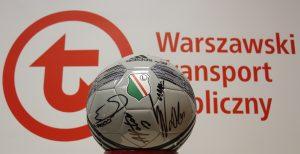 aukcja WOŚP - piłka Legia Warszawa z podpisami