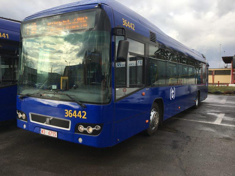 zdjęcie: hybrydowy autobus Volvo