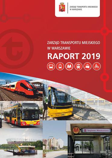 okładka raportu rocznego ZTM za rok 2019
