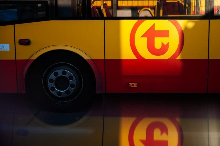 zdjęcie boku autobusu WTP