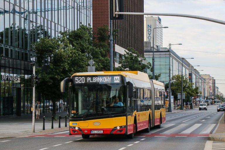 Gazowy autobus marki Solaris - fot. L. Peczyński