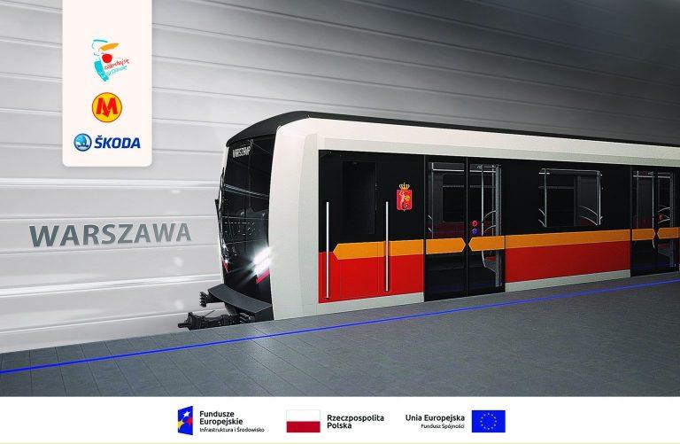 Wizualizacja nowych pociągów metra