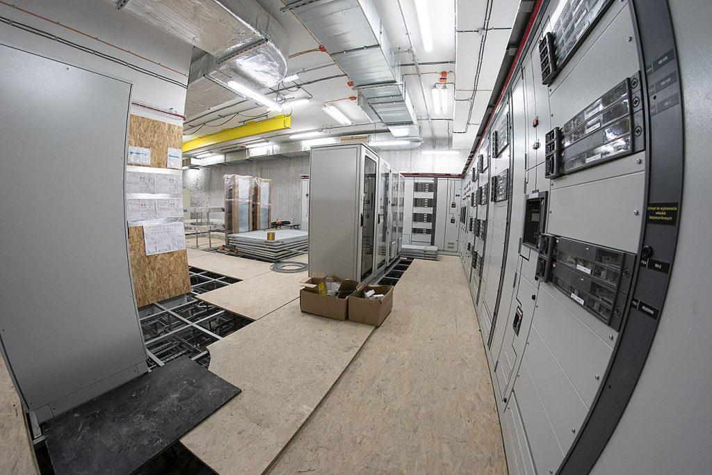 budowane pomieszczenie techniczne