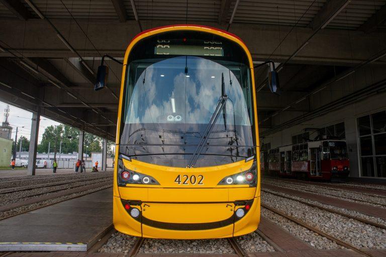 Nowy tramwaj dla Warszawy