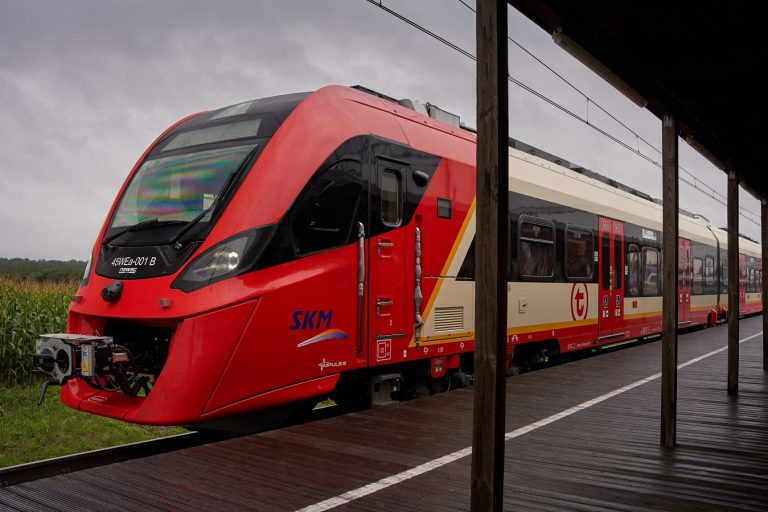 zdjęcie pociągu Impuls 2 dla SKM
