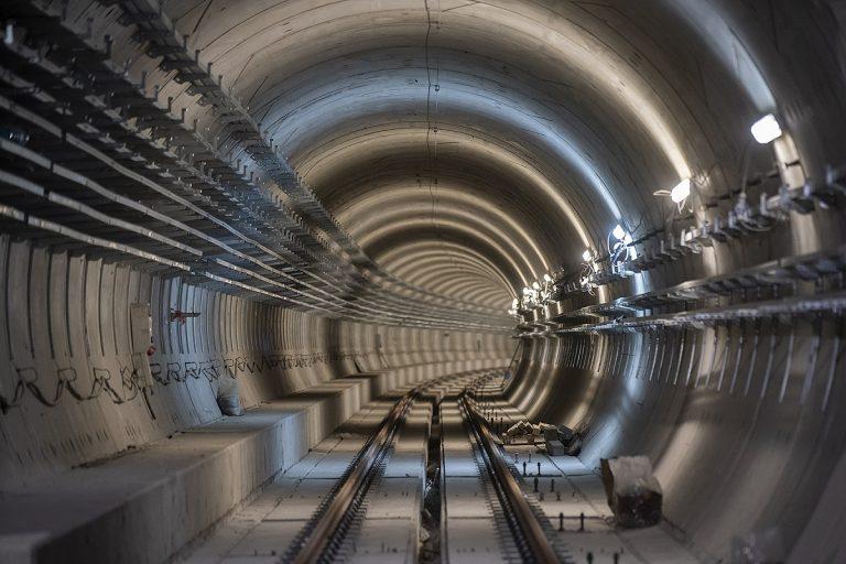 zdjęcie z budowy II LM na Bródnie