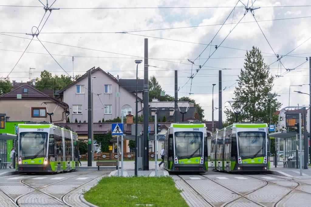 zdjęcie tramwajów w Olsztynie - fot. UM Olsztyn/Marcin Kierul