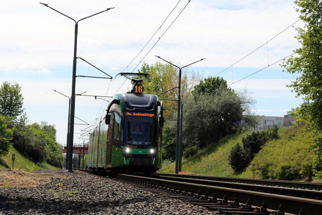zdjęcie tramwaju w Poznaniu - fot. MPK Poznań